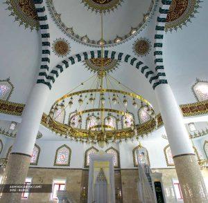 Teknomyapı -   - cami inşaatı, cami kubbe kaplama